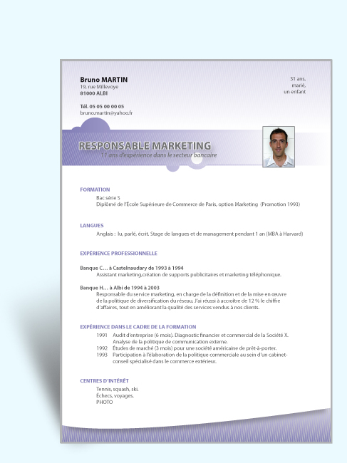 comment faire un cv accrocheur