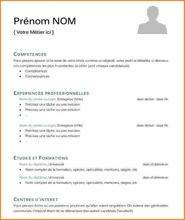comment faire un cv simple et efficace