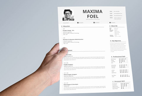 comment faire un cv sur indesign
