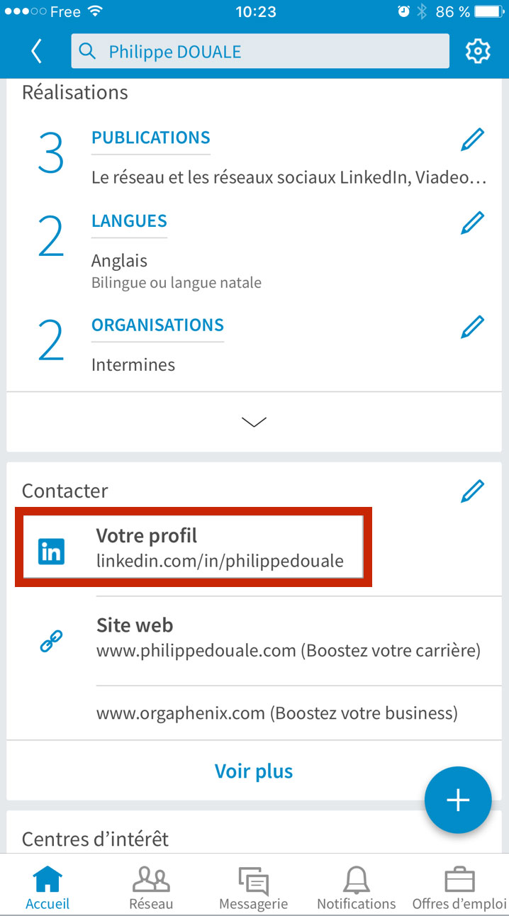 comment faire un cv sur linkedin