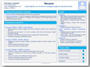 comment faire un cv sur powerpoint