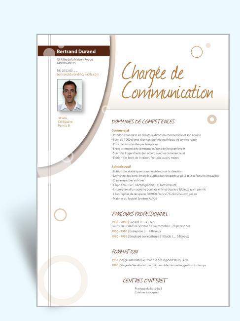 conseil cv communication