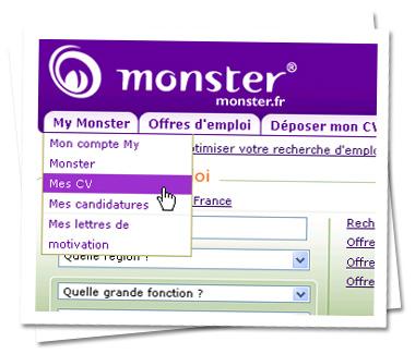 conseil cv monster