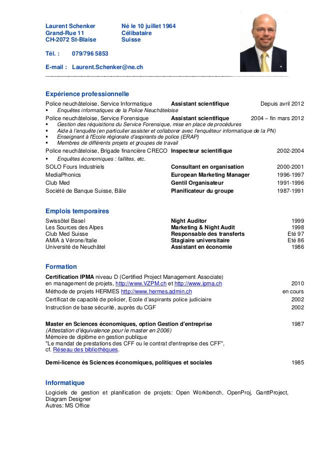 conseil cv suisse