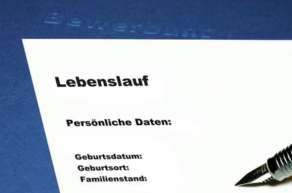 ecrire un cv en allemand