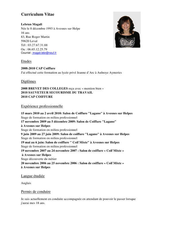 faire un cv design avec word