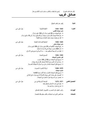 Rediger Un Cv En Arabe