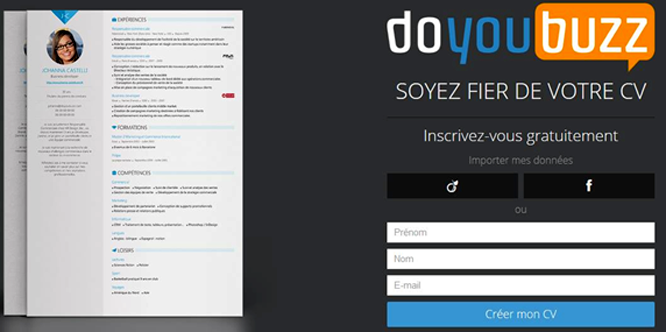 comment faire un cv digital