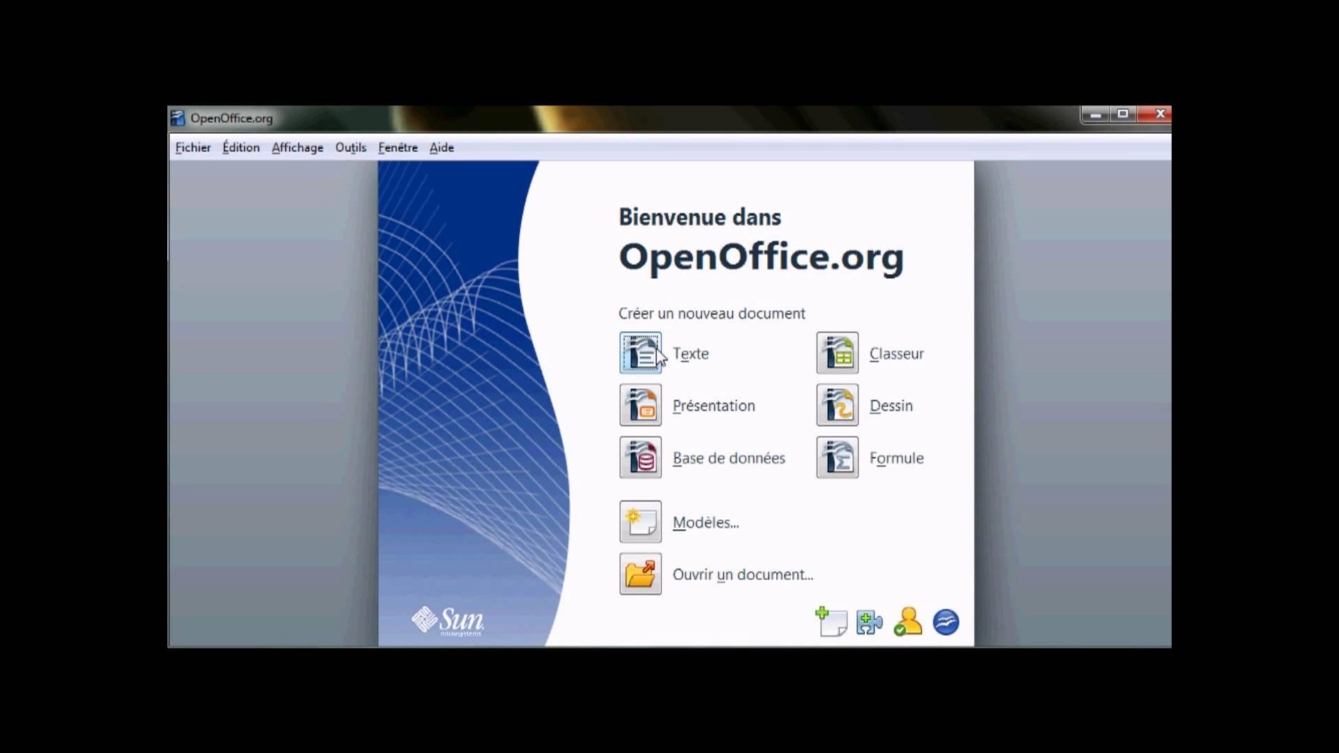 comment faire un cv moderne avec open office