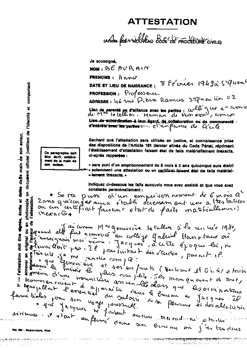 ecrire un cv manuscrit