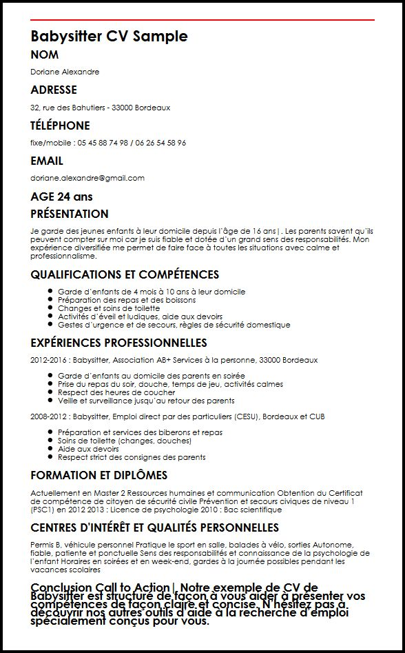 faire un cv gratuit sans inscription