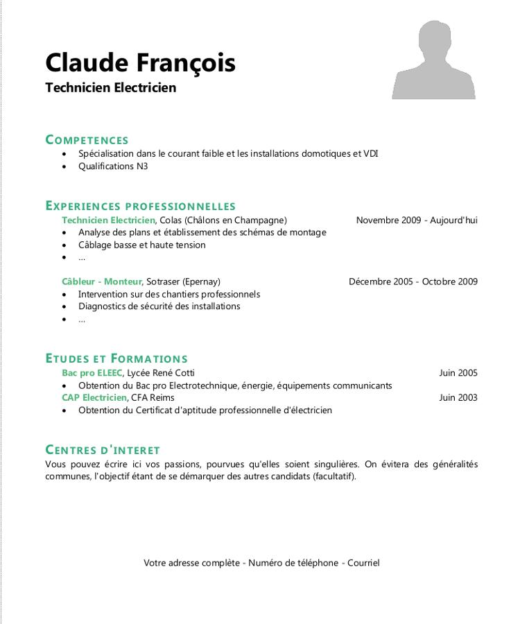 faire un cv en ligne gratuit pdf