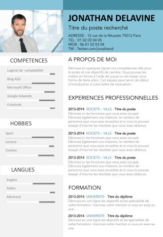 rediger un cv en francais en ligne